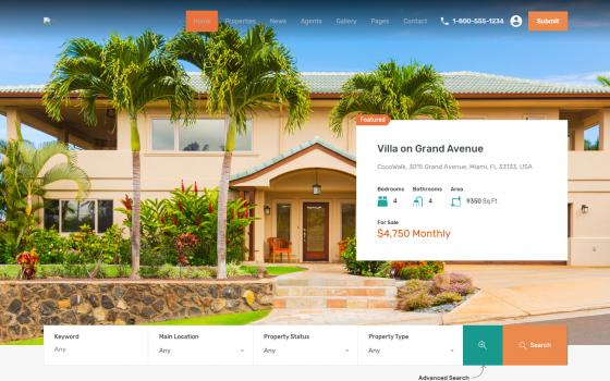 Сайт портал продажа аренда недвижимости